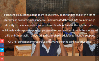 GM Foundation launches new state-of-the-art website